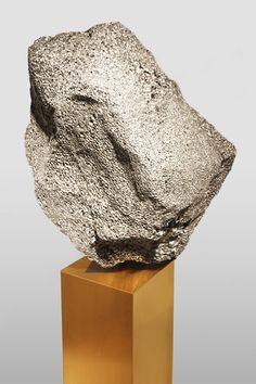 """Aluminium foam used to create """"pumice-like"""" cabinets."""