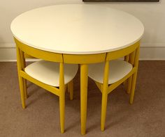 Dining Table Sets For Sale. Tiny Spaces, Retro Furniture, Light Painting, Mid-century Modern, Mid Century, Chair, Olsen, Interior, Dining Sets