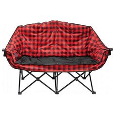 Kuma Outdoor Gear Bear Buddy Double Camp Chair - Red/Black #ad Gear Bear, Camping Chairs, Camping Gear, Luxury Camping, Glass Holders, Red And Black Plaid, Chairs For Sale, Outdoor Gear, Love Seat