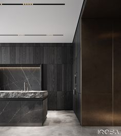 New luxury is a modern individuality, progressive design and functionality. Luxury Interior, Interior Architecture, Interior And Exterior, Pantry Inspiration, Black Kitchens, Kitchen Black, Luxury Kitchen Design, Dark Interiors, Bespoke Kitchens
