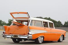 57 Chevy Wagon..Re-Pin brought to you by #CarInsuranceagents at #HouseofInsurance in #EugeneOregon