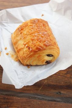 Pain Au Chocolat in Paris