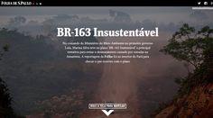 Em agosto de 2014, uma equipe da Folha viajou pela região de Novo Progresso (PA), para retratar como nunca chegou a sair da gaveta o plano BR-163 Sustentável, arquitetado uma década antes pela então ministra petista Marina Silva na pasta do Meio Ambiente.