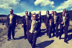 Wedding Photography | Groomsmen | The Lodge at Breckenridge, Colorado | http://thelodgeandspaatbreck.com/