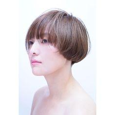 いいね!100件、コメント2件 ― MAI name is MAIさん(@d_mai_lite)のInstagramアカウント: 「初モデル . @furudate_chiharu . 切らせてくれてありがとう✂️✨ . まだまだ準佳作から抜け出せません . model by @furudate_chiharu…」 Bob Styles, Short Hair Styles, Aline Bob, Bowl Cut, Bob Hairstyles, Hairdos, My Hair, Pixie, Hair Cuts