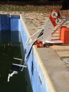 Mise à l'eau des PMR ; portée verticale de l'unikart. http://myhexagone.com/fr/handicap.php