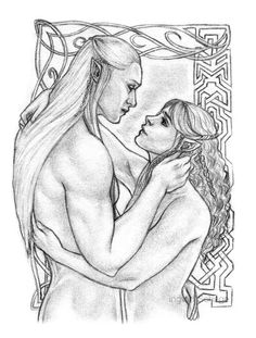 Legolas and Kiliel - Open your heart by Ingvild-S.deviantart.com on @DeviantArt