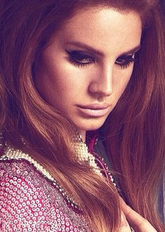 Fierce Cat Eye on Lana Del Rey