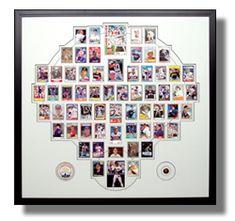 Frame your baseball card collection!