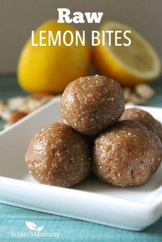 These raw lemon bite