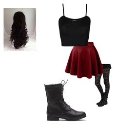 """""""Untitled #105"""" by morgan-kitty-henley on Polyvore featuring LE3NO and WearAll"""