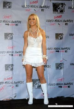 Britney Spears @ the MTV Video Music Awards in 2003