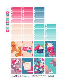 Merry Christmas Freebie Printable - BEaYOUtiful Planning