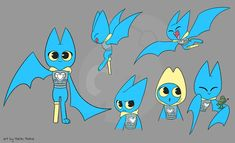 Mao Mao Adorabat Mom / Follow the instructions and try to draw adorabat, one of the main characters of mao mao: