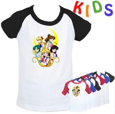 Детские футболки Сейлормун. Нашла здесь - http://ali.pub/pk1dz