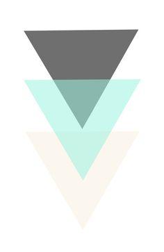 triangles Art Print by kristenbarstad Cute Patterns Wallpaper, Cute Wallpaper Backgrounds, Aesthetic Iphone Wallpaper, Cool Wallpaper, Best Iphone Wallpapers, Pretty Wallpapers, Future Wallpaper, Triangle Art, Yoko