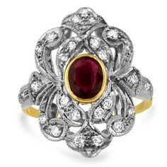 18K Yellow Gold The Kalanit Ring