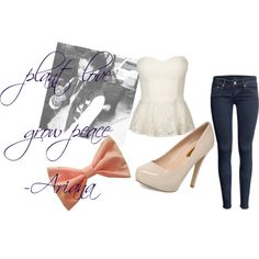 """Ariana Grande"" inspired outfit"