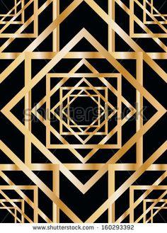 art deco geometric patterns - Поиск в Google