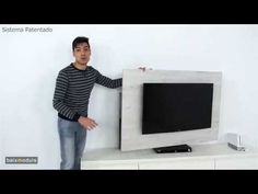 Vídeo Mueble Giratorio TV CON MUSICA mod.108 - YouTube
