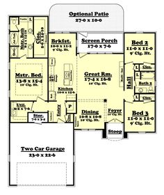Highpointe House Plan