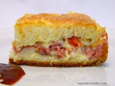 Torta Pizza de Liquidificador | Blog Aqui na Cozinha |