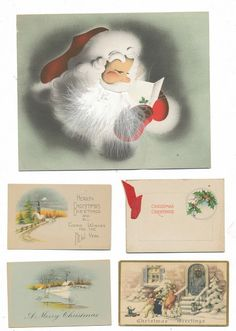 I thought you might enjoy these bits of holiday ephemera. Lots more on the site.