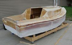 Building a plywood pocket cruiser sailboat Kayak Boats, Canoe And Kayak, Fishing Boats, Canoes, Boat Supplies, Plywood Boat Plans, Electric Boat, Wooden Boat Building, Boat Kits