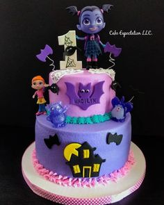 Sweet Prints Inc — Boo! I love this spooky cake made by. Third Birthday, 4th Birthday Parties, Birthday Cake, Birthday Ideas, Halloween Cakes, Halloween Birthday, Witch Cake, Themed Cakes, Party Cakes