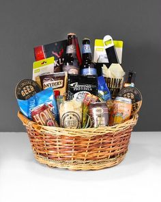 Now offering Local beer baskets.Baskets made and sold by In Bloom Florist. Insta & 14 Best Gift Baskets! images | Creative gift baskets Creative gifts ...