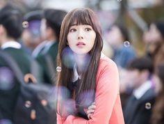 Chae Soo-Bin as Jo Ji-A Korean Actresses, Korean Actors, Actors & Actresses, Drama Korea, Korean Drama, Korean Beauty, Asian Beauty, Chae Soobin, Robot Cute