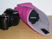 Kameratasche: Wrap, Tuch, Cover,