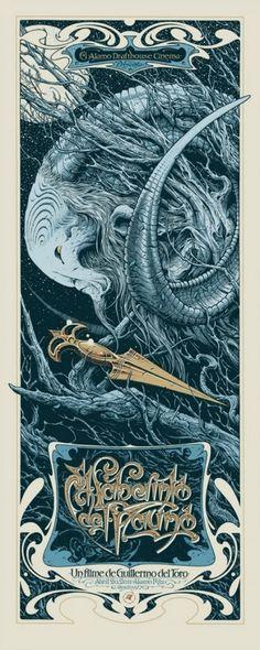 Art Nouveau Pan's Labyrinth