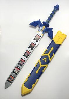 Get ready to defeat Gannon, or just keep your games safe with this Master Sword cartridge case! #thelegendofzelda #zelda #legendofzelda #nintendo #merch #merchandise #3dprint #3dprinting #zeldamerch #zeldamerchandise #nintendomerch #nintendomerchandise #mastersword #link