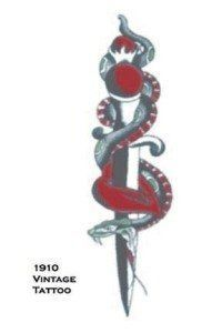 Tattoo Vintage Snake W Dagger by Morris Costumes. $2.20. Temporary Tattoo. So realistic your friends will think its real. Toys amp; Games  Temporary Tattoos | tattoos picture realistic temporary tattoos