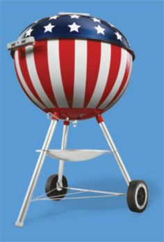 Weber Patriotic Grill&nbspHome of fun, food, and fellowship&nbspLet's Talk BBQ Bbq Grill, Grilling, Weber Bbq, Weber Grills, Weber Charcoal Grill, Weber Kettle, Grillin And Chillin, Tool Sheds, Red Wine