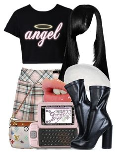2000's 8|13|17 by miizz-starburst on Polyvore featuring polyvore мода style Louis Vuitton kangol Juicy Couture fashion clothing