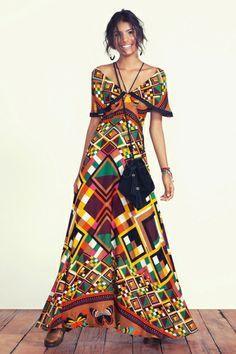 vestido longo borbográfica
