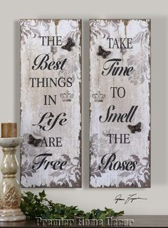 Sayings Wooden Wall Plaques Wooden Wall Plaques, Wooden Signs, Wood Crafts, Diy Crafts, Personalized Picture Frames, Painting Quotes, Diy Canvas, Canvas Art, Pallet Art