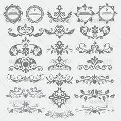 Vintage Monogram Design » Tinkytyler.org - Stock Photos & Graphics