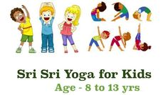 Yoga helps kids concentrate better on their studies; research has even showed it helps in improving grades. It can increase creativity, build stamina and confidence, reduce stress levels etc. #yogaforkids #srisriyoga