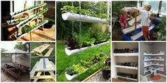 10+ Fabulous DIY Rain Gutter Projects For Home and Garden