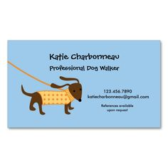 Animal Pet Care Business Card Templates