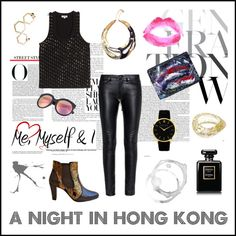 La French Cut black and gold low boots x polyvore fashion style Kenzo Yves Saint Laurent Larsson & Jennings Topshop Chanel Umbra Carmenchanjewelry Niinstyle Nomerajewellery Dienastie La French, Larsson & Jennings, Low Boots, Kenzo, Polyvore Fashion, Yves Saint Laurent, Topshop, Boards, Chanel