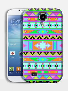 AFRICAN NEON mobile phone case. Available on: Samsung S3 Samsung S4, iPhone 4/4s, iPhone 5/5s. By TheSmallPrintCases. £10.99