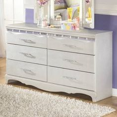 girls white bedroom furniture - Google Search