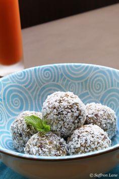 medjool balls for breakfast