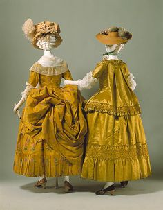 More golden silk! ca. 1778, French, silk, Metropolitan Museum of Art