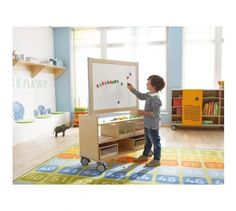 Move Upp Mirror & Whiteboard Top Element for Cabinet by HABA, 432650