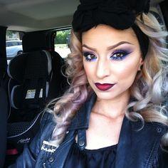Love Dramatic makeup!